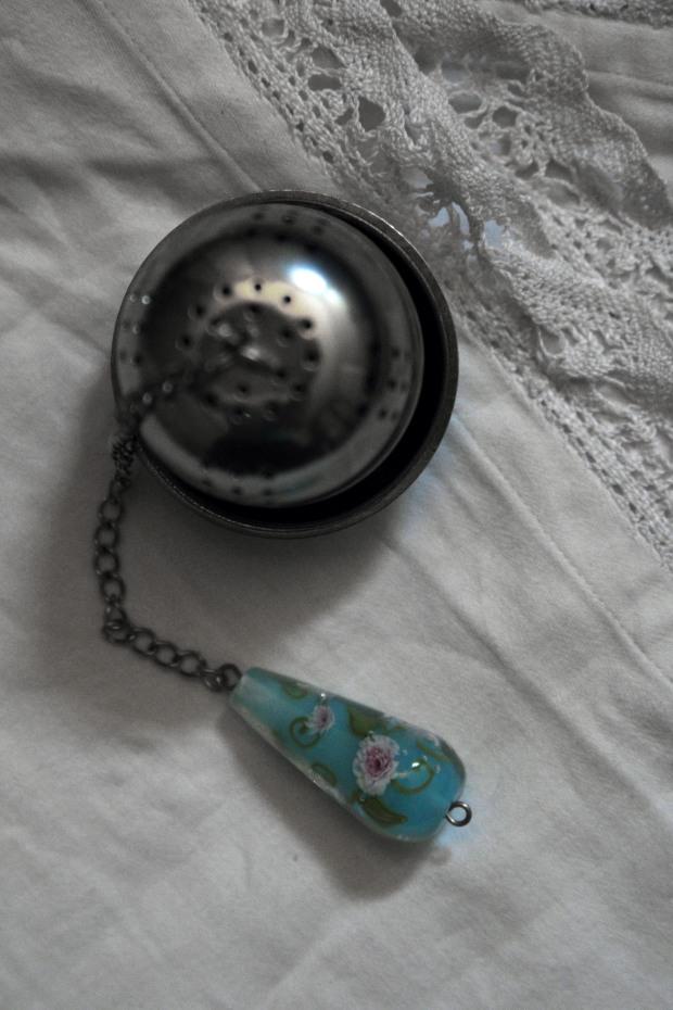 Boulé à thé bohème marie antoinette pivoines motif fleur