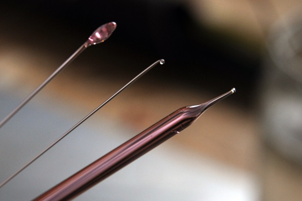 Sakura glass rods
