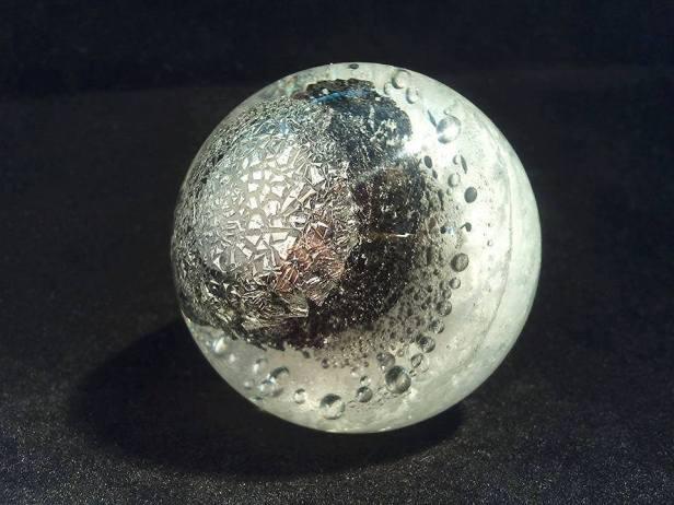 Technique de synthétisation du silicium SiC dans le verre
