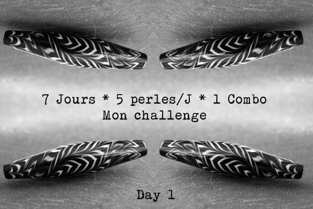 7 days Challenge Glass Bead Nathalie Crottaz