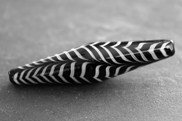 Technique de la plume et technique du rateau technique de la vague perle de verre au chalumeau