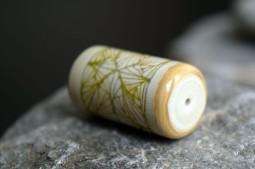 Boussole Beige lignes fines verte 2016