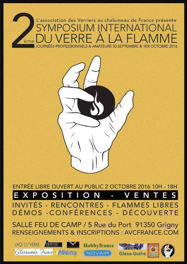 FLYER AVCF SYMPOSIUM 2 2016 VIRY CHATILLON FEU DE CAMP