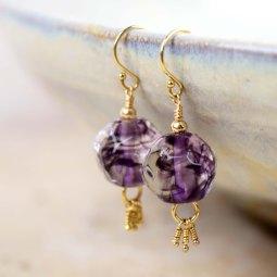 Bijoux Raffinés en Perles de Verre de fabrication Françaises